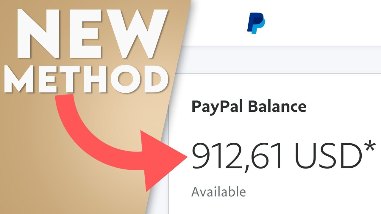 Earn $900 Every 4 Min in Free PayPal Money! (Make Money Online 2021) thumbnail