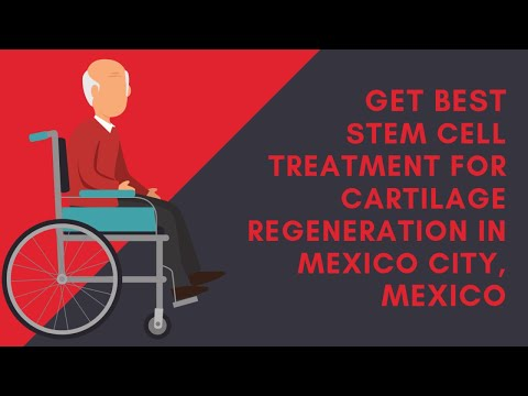 Get Best Stem Cell Treatment for Cartilage Regeneration in Mexico City, Mexico