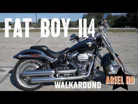 Pre-Owned 2018 Harley-Davidson Fat Boy 114