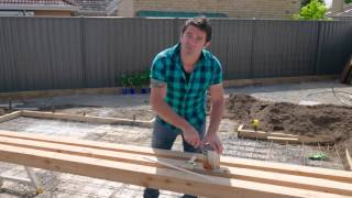 The Home Team S2 - DIY Timber Plant Screen