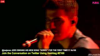 Joe Jonas - I'm Sorry live on Z100 2011
