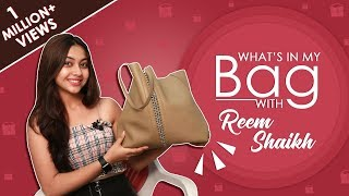 What's In My Bag With Reem Shaikh | Bag Secrets Revealed | Exclusive