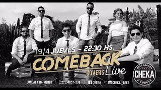 COMEBACK COVERS EN CHEKA