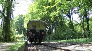 preview picture of video 'Steam train Schluff: Dampfeisenbahn zwischen Krefeld und St.Toenis'