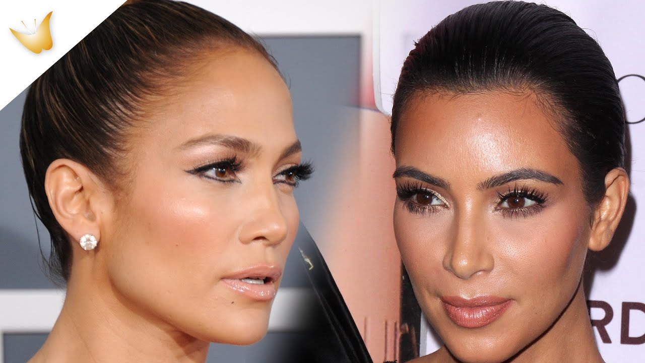Kim Kardashian vs JLo | ¿Maquillaje contouring o strobing?
