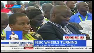 IEBC Wheels Turning: President gets amendment bill