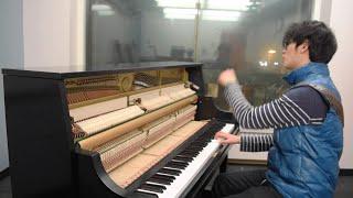Skrillex - Stranger (Skrillex Remix w/ Tennyson & White Sea) - Tony Ann (Piano Solo)