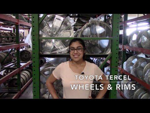 Factory Original Toyota Tercel Wheels & Toyota Tercel Rims – OriginalWheels.com