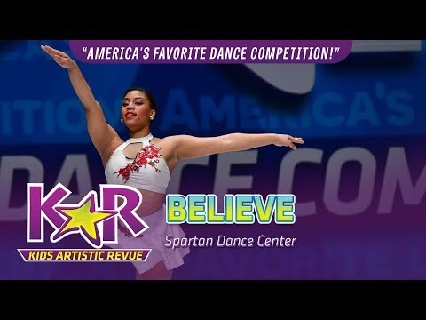 """Believe"" from Spartan Dance Center"