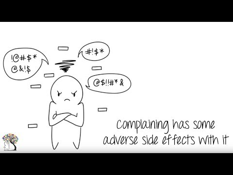 How Complaining Affects the Brain and General Health
