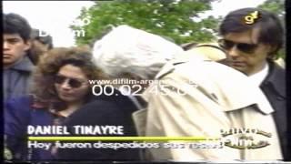 DiFilm - Lucho Aviles Por Muerte De Daniel Tinayre (1994)