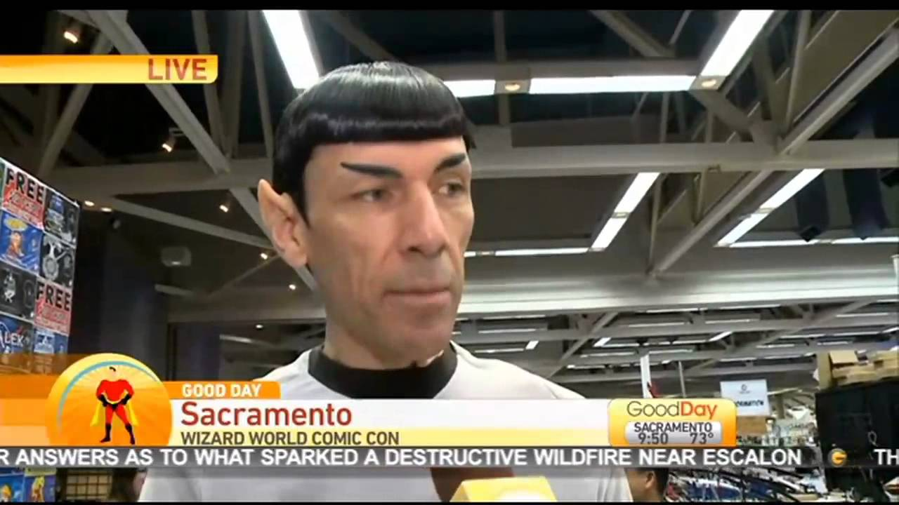 Hire Spock Vegas Look Alike In Las Vegas Nevada