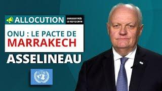 Pacte de Marrakech: l'avis d'Asselineau