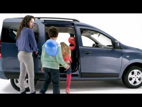 Renault  Dokker Минивен класса M - рекламное видео 1