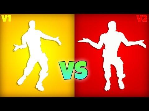 Living Large V2 vs OG LIVING LARGE! (New Default Dance) Fortnite Battle Royale