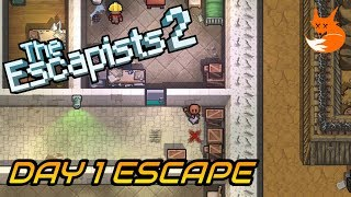 RATTLESNAKE SPRINGS DAY 1 ESCAPE (Perimeter Breakout)   The Escapists 2 [Xbox One]