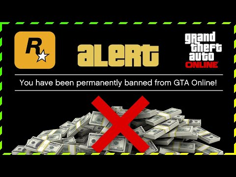Rockstar Games to BAN & MONEY WIPE ALL PLAYERS in GTA Online