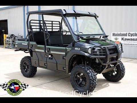 2017 Kawasaki Mule PRO-FXT EPS LE in La Marque, Texas - Video 1
