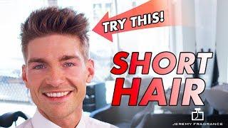 Short Hair For Men 2018 | Jeremy Fragrance Style