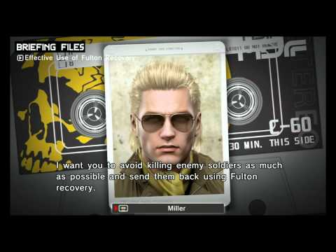 Here Is Metal Gear Solid: Peace Walker Running On The PS3