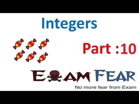 Happyclass - Integers, Mathematics, CLASS 7 - NCERT CBSE