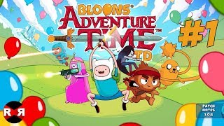 Bloons Adventure Time TD - CANDY KINGDOM - iOS Gameplay Part 1