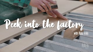 "Rafa-kids Factory ""Behind The Scenes"" – Design Furniture For Children"