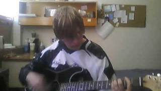 """cheat video I """"beautiful blue eyes"""" by chiodos played by me"""