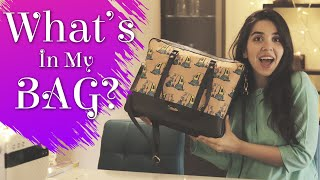 **ENDLESS** What's In My Bag? | #Vlogmas Day 8