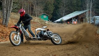 The Scary Fast Snowmobile Scooter Rips! Part 4