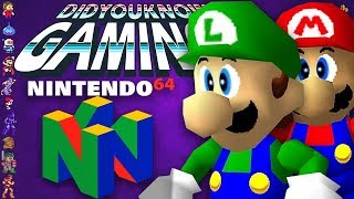Every Cancelled N64 Game - Did You Know Gaming? Feat. Remix