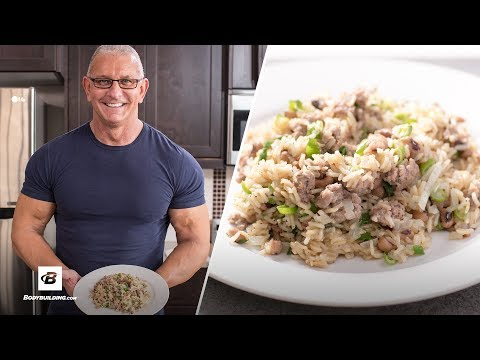 Video Chef Robert Irvine's Healthy Rice Recipes 3 Ways