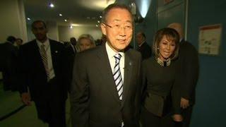 Behind the scenes with Ban Ki-moon