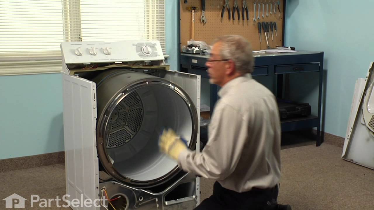 Replacing your General Electric Dryer Drive Belt
