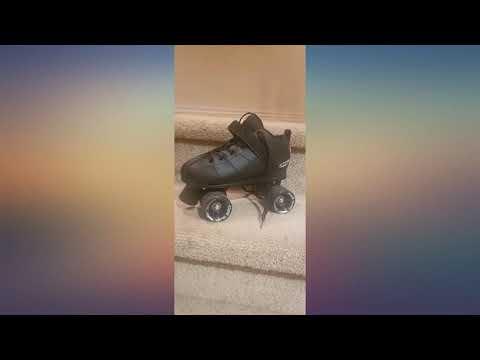 Crazy Skates Rocket Roller Skates - Quad Skates for Men and Women - Black review