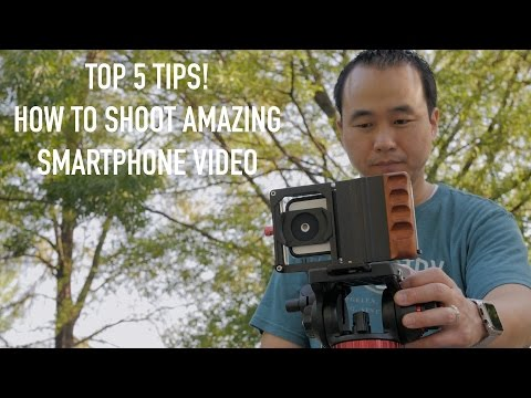 The Best Tips On How To Make Professional Video With Your Smartphone