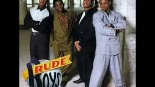 Rude boys - Written all over your face