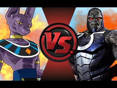BEERUS vs DARKSEID! Cartoon Fight Club Episode 97