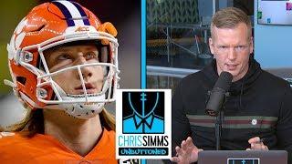 Phil Simms' scouting report on Joe Burrow, Trevor Lawrence | Chris Simms Unbuttoned | NBC Sports