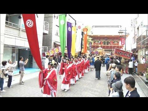 العرب اليوم - شاهد: الاحتفال بذكرى معركة تاريخية ضمن مهرجان كاندا ماتسوري في طوكيو