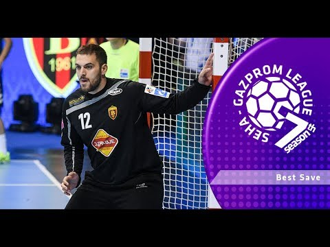 Best save: Strahinja Milic (Nexe vs Vardar)