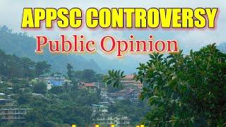 APPSC CONTROVERSY/PUBLIC OPINION/2018
