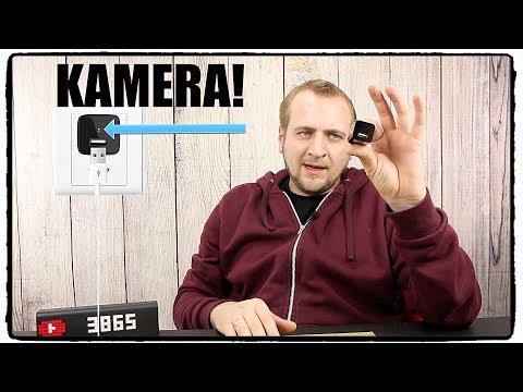 ❌ STECKDOSEN KAMERA - FREDI HD Mini Überwachungskamera  TEST / ANLEITUNG