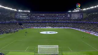 Calentamiento Real Valladolid CF vs Real Madrid