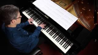 Ich steh an deiner Krippen hier (Johann Sebastian Bach) - Piano Solo by Michael Gundlach