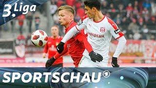 3. Liga: Hallescher FC effizient gegen Großaspach
