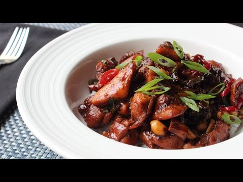 Spicy Caramel Chicken Recipe - How to Make Sticky Spicy Chicken