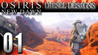 Let's Try Osiris: New Dawn :EP1: Subnautica meets Ark on Mars!...Kinda. (HD Let's Play Gameplay)
