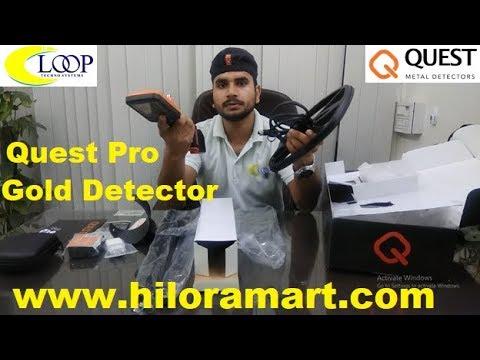 QUESTPRO Metal Detector
