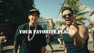 Justin Bieber Ft Luis Fonsi & Daddy Yankee - Despacito ( Lyric English Video)